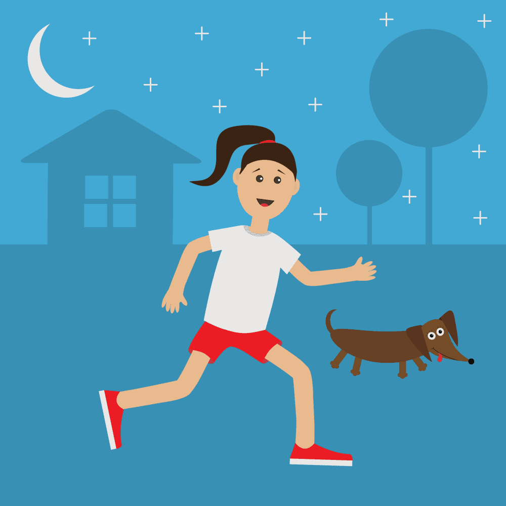 How to safely run with your Dachshund
