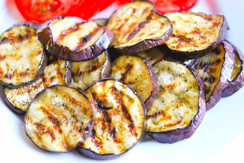Grilled Eggplant for Dogs